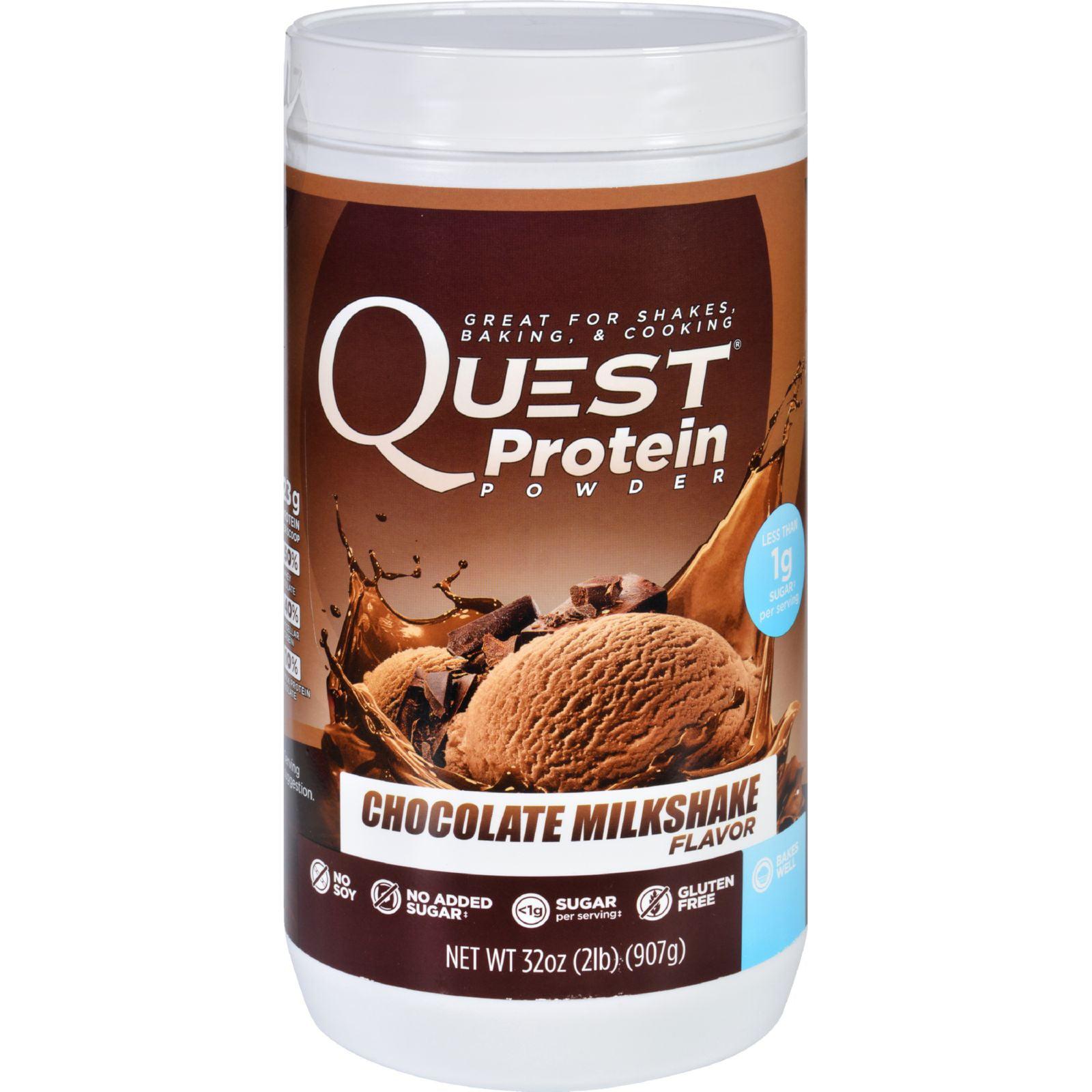 Quest Protein Powder - Chocolate Milkshake - 2 lb