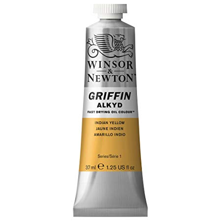 Winsor & Newton - Griffin Alkyd Color - 37ml Tube - Indian Yellow