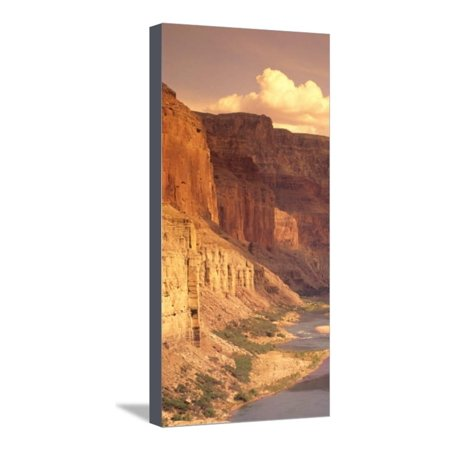 Grand Canyon National Park, CO River, AZ Stretched Canvas Print Wall Art By Amy And Chuck