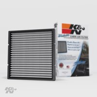 K&N Cabin Air Filter: Washable and Reusable: Designed For Select 2000-2014 Toyota/Subaru/Mitsubishi/Lexus Vehicle Models, VF2002