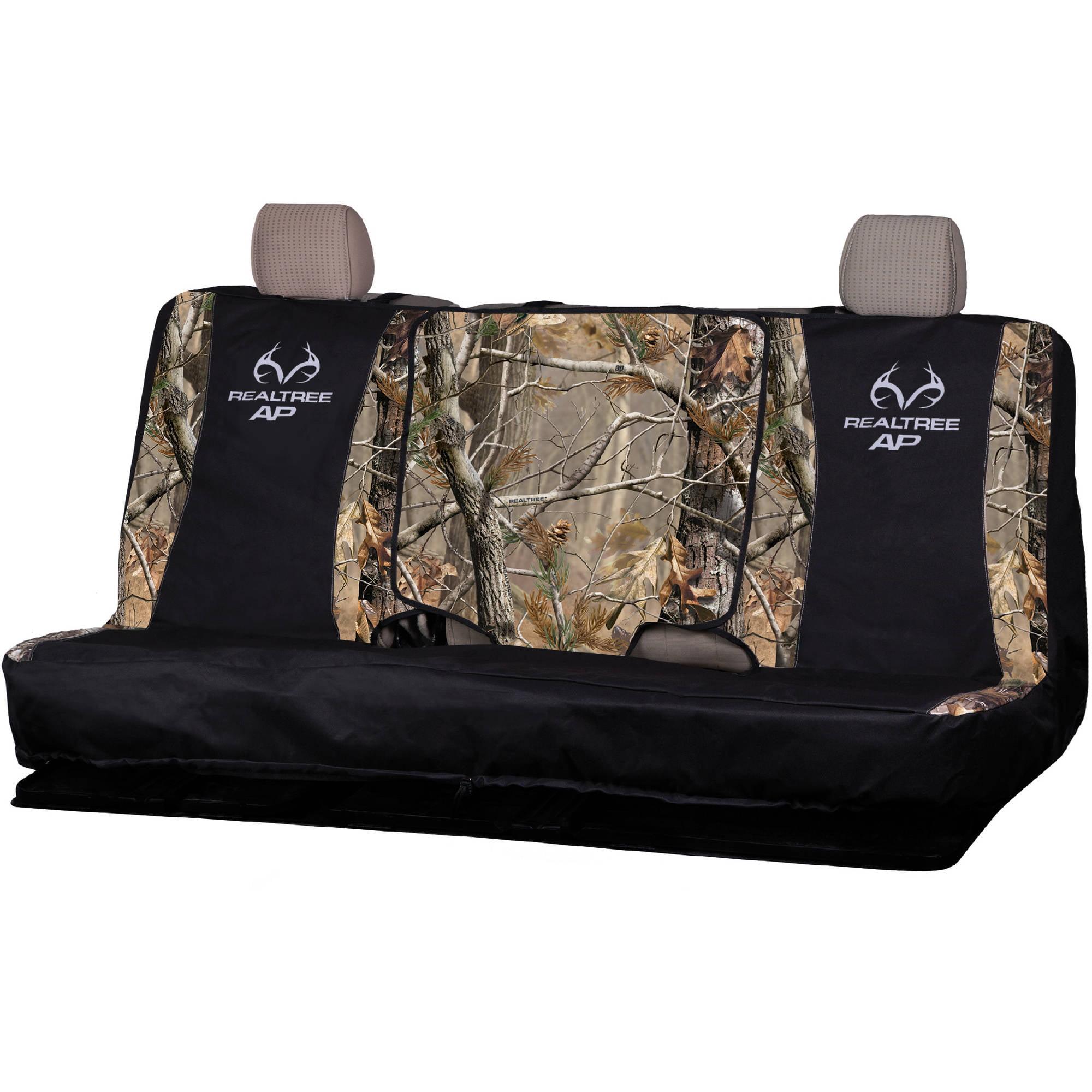 Realtree Xtra Camo Full Size Bench Seat Cover Walmart Com