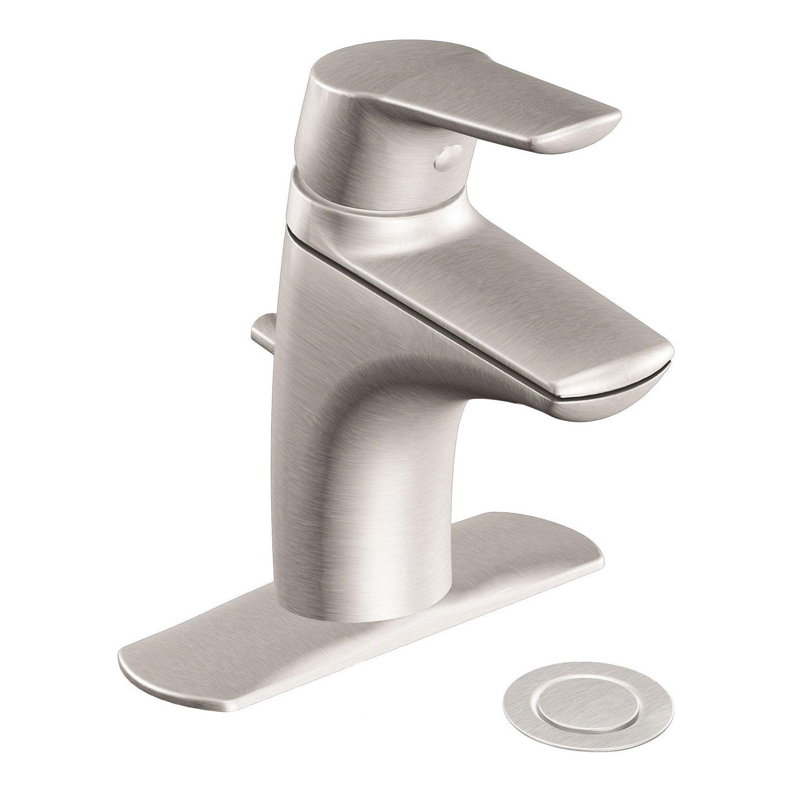 Moen Method 6810bn Single Handle Low Arc Bathroom Sink Faucet
