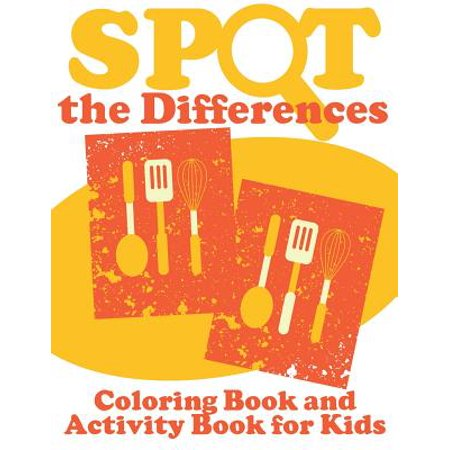 Spot the Differences (Coloring Book and Activity Book for Kids) for $<!---->