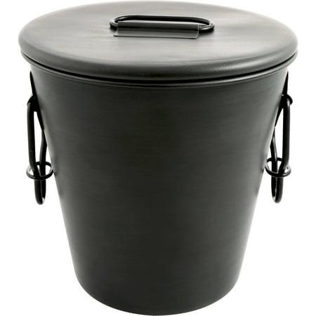 Cambridge Dunham Gunmetal 3 qt Single-Walled Ice Bucket