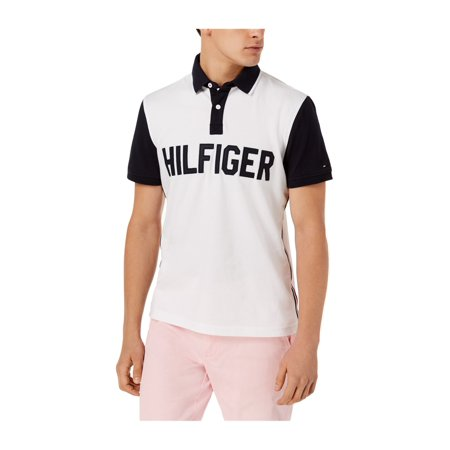 5def3f8c9 Tommy Hilfiger Mens Querrey Rugby Polo Shirt 112 XL - image 1 of 1 ...