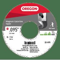 Magnum Gatorline Square Trimmer Line .095 5LB SPL