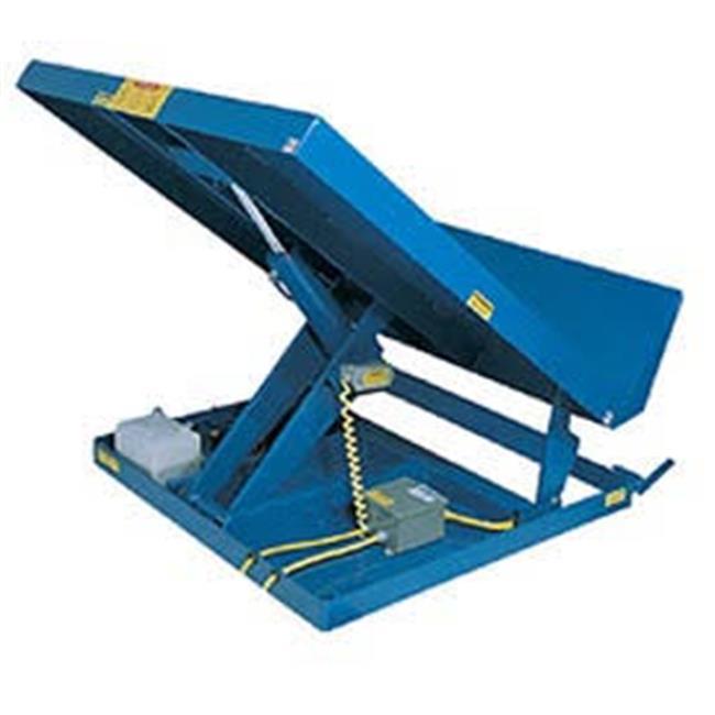 Vestil UNI-4848-4 Scissor Lift Table, Blue 48 x 48 in. 4000 lbs by Vestil