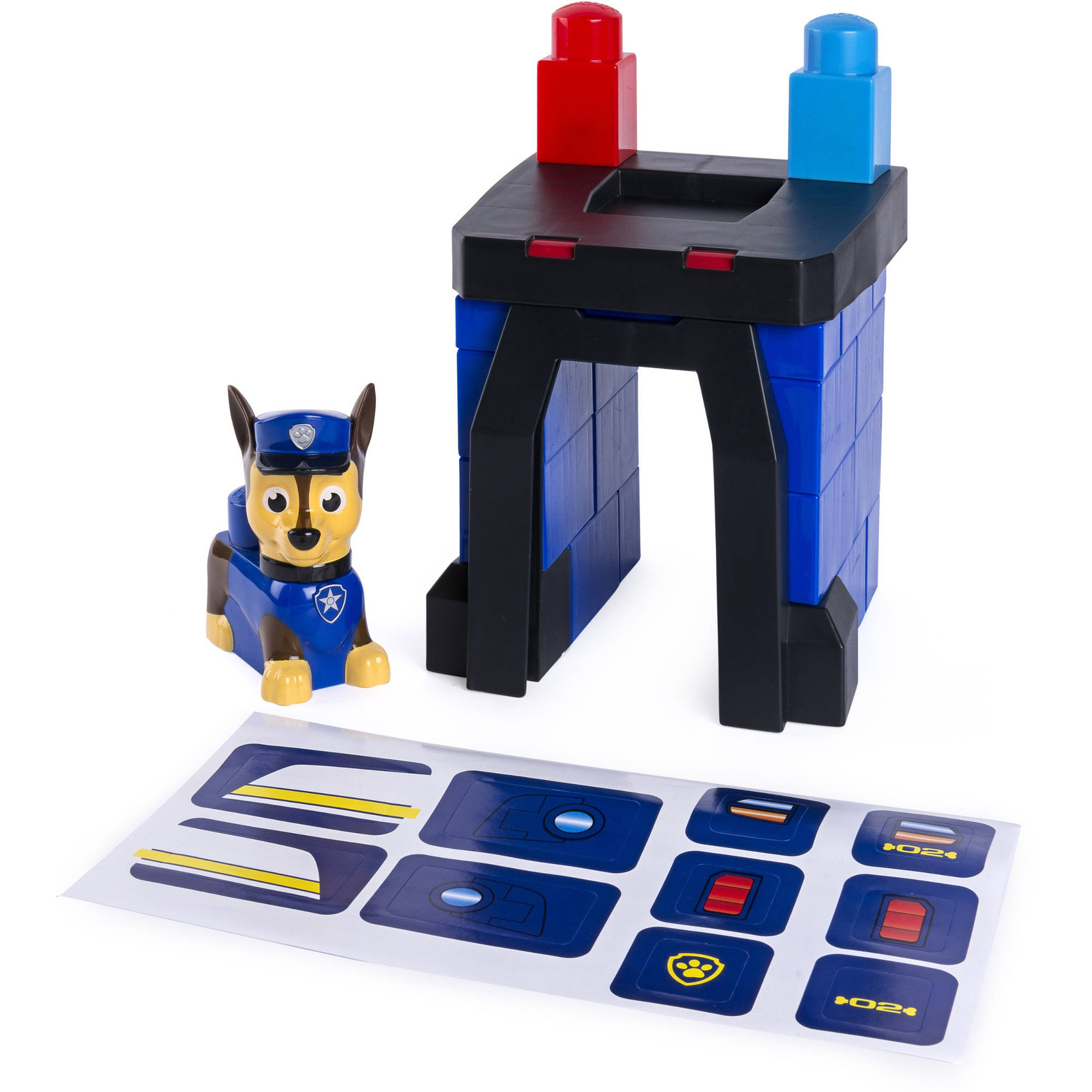 Paw Patrol IONIX Jr. Chase's Pup House Building Block Set by SPIN MASTER TOYS FAR EAST LIMITED