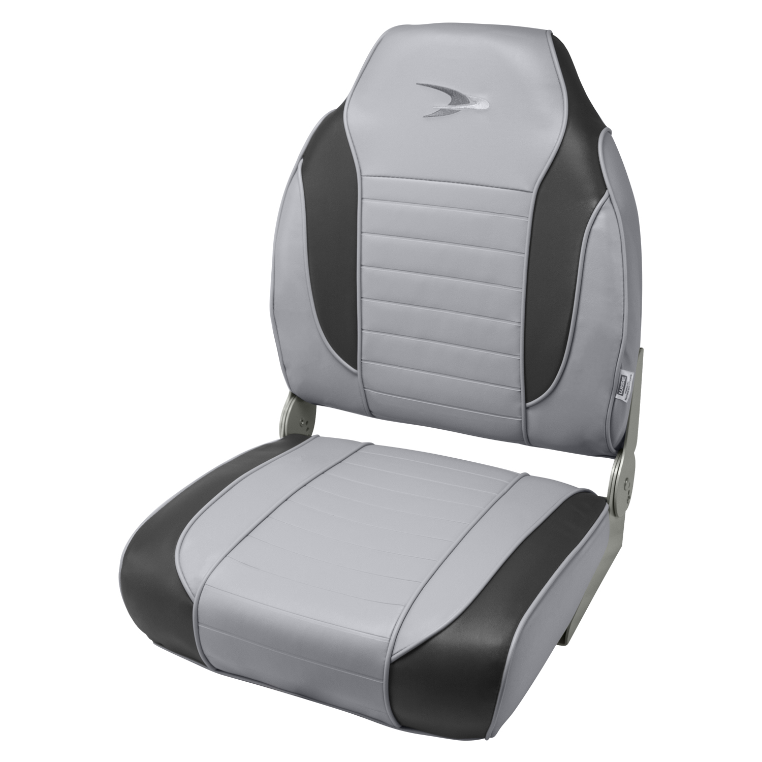 Wise 8WD892PLS Series Striped High Back Boat Seat