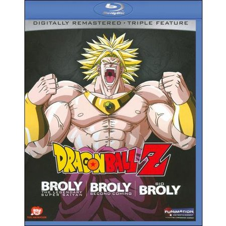 Dragon Ball Z: Broly Triple Feature (Blu-ray)