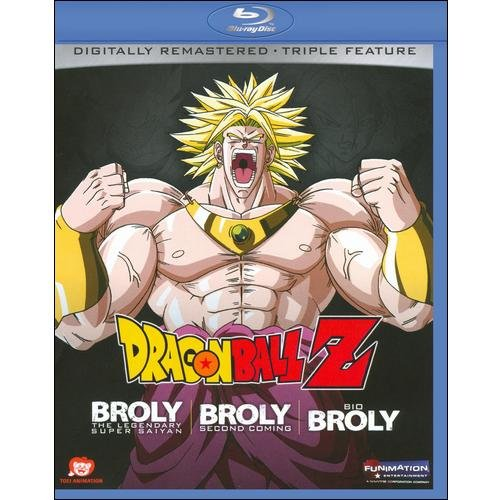 DragonBall Z: Broly Triple Feature (Blu-ray) (Japanese)