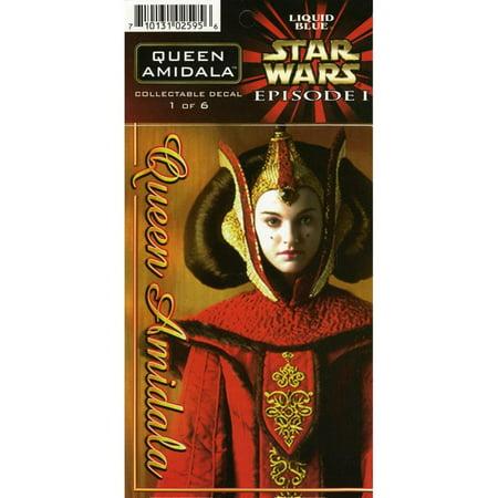 Star Wars - Queen Amidala Decal (Queen Amidala Star Wars)