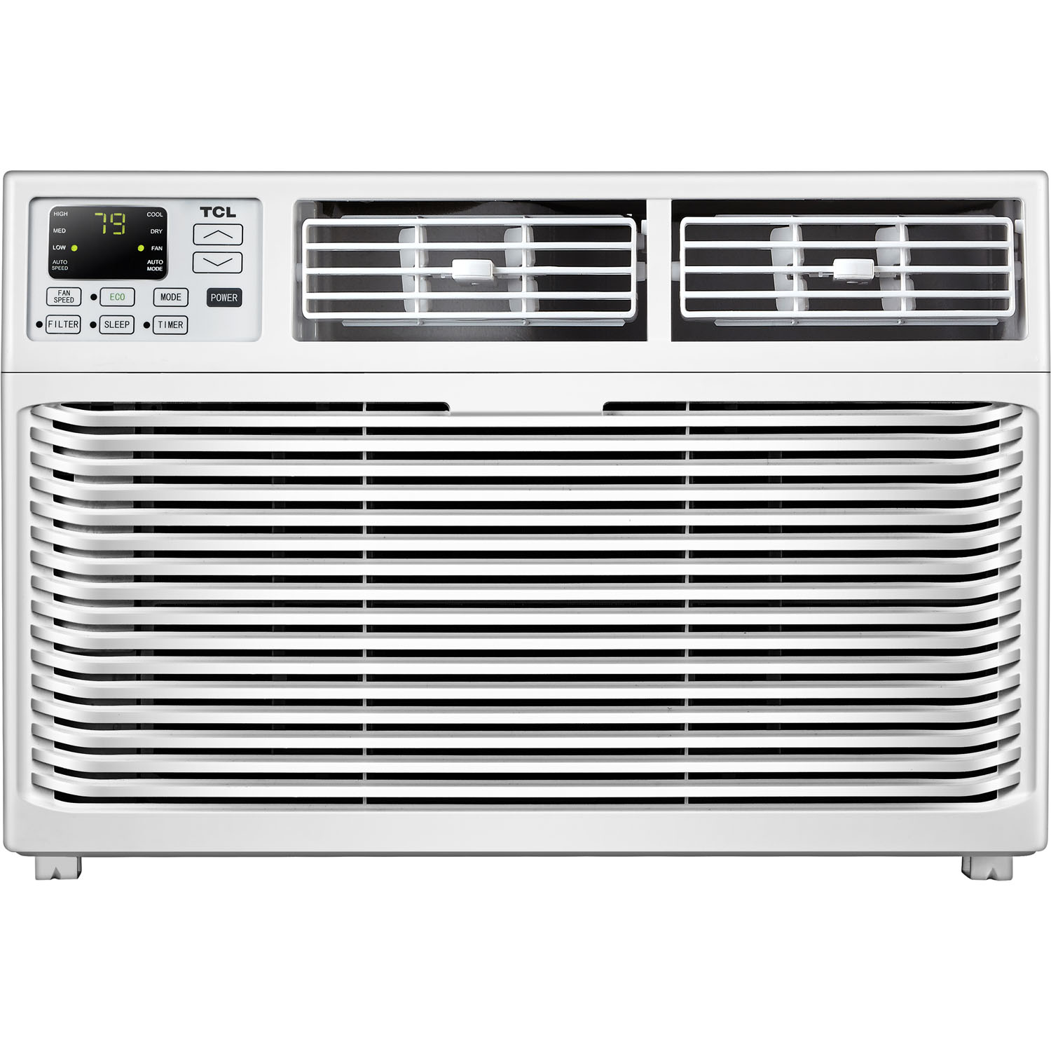 TCL Energy Star 6,000 BTU 115V Window-Mounted Air Conditioner with Remote Control