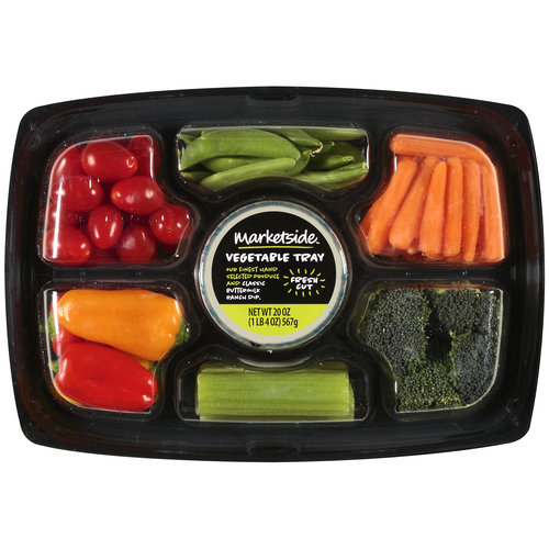 Marketside With Buttermilk Ranch Dip Vegetable Tray, 20 oz