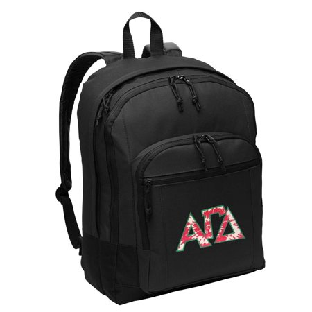 Alpha Gamma Delta Backpack CLASSIC STYLE AGD Sorority Backpacks Travel & School Bags