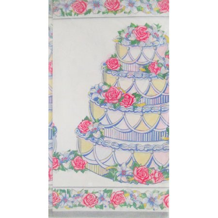 Bridal Shower 'Eternal Love' Paper Table Cover (1ct)