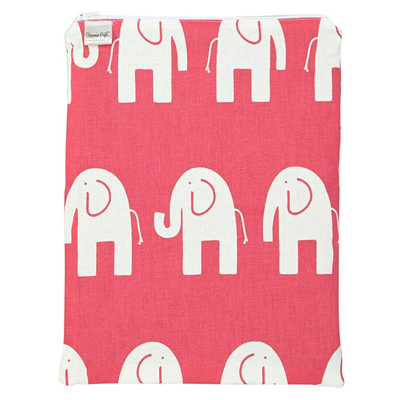Brownie Gifts Hot Pink Elephant Wet Bag