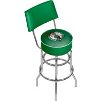 NBA Swivel Bar Stool with Back - City - Boston Celtics