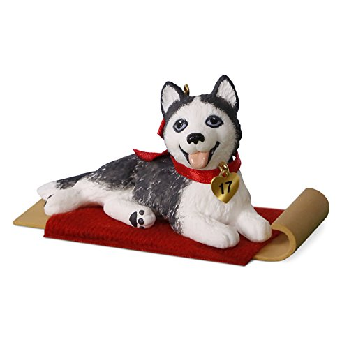 Hallmark Puppy Love #27 Siberian Husky Keepsake Christmas ...