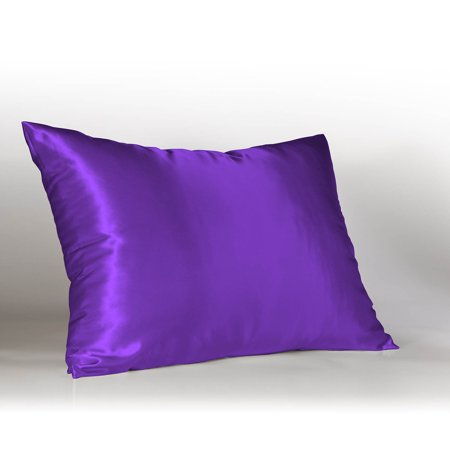 Sweet Dreams Luxury Satin Pillowcase With Zipper Standard