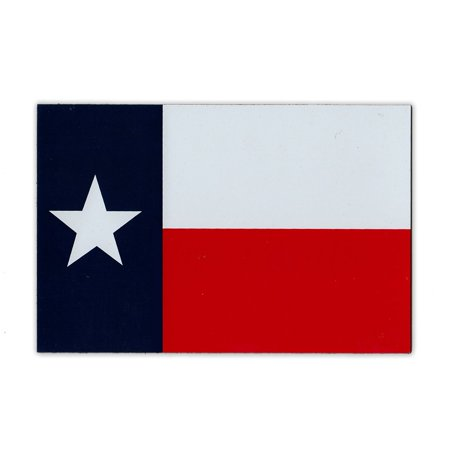 State Flag Bumper Sticker - Medium Size Magnet - Texas State Flag (Texan) - Pride, Support, Magnetic Bumper Sticker - 6