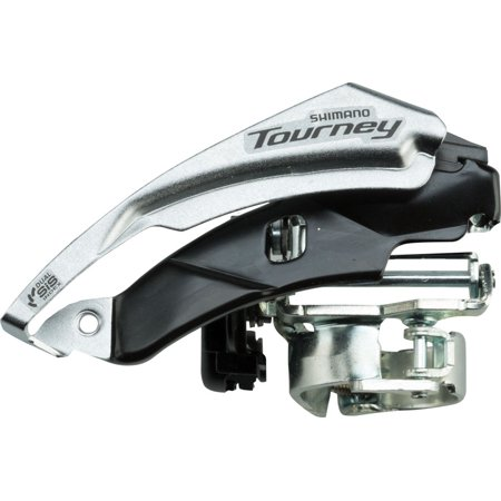 Shimano Tourney FD-TY510 6/7-Speed Triple Top-Swing Dual-Pull Front Derailleur E Type Front Derailleur