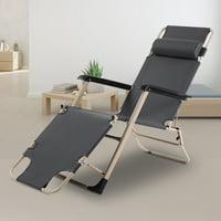 YLSHRF Stretch Single Square Tube Dual-purpose Leisure Folding Chair Portable Folding Single Bed, Beach Chair Foldable, Lounge Chair