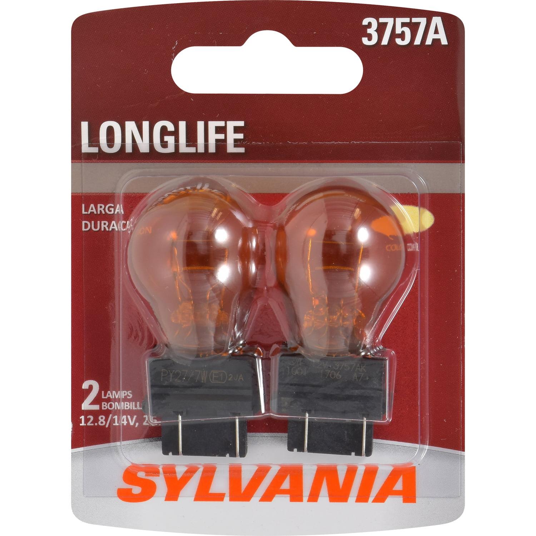 Sylvania 3757A Long Life Miniature Bulb, Contains 2 Bulbs by Osram Sylvania Inc.