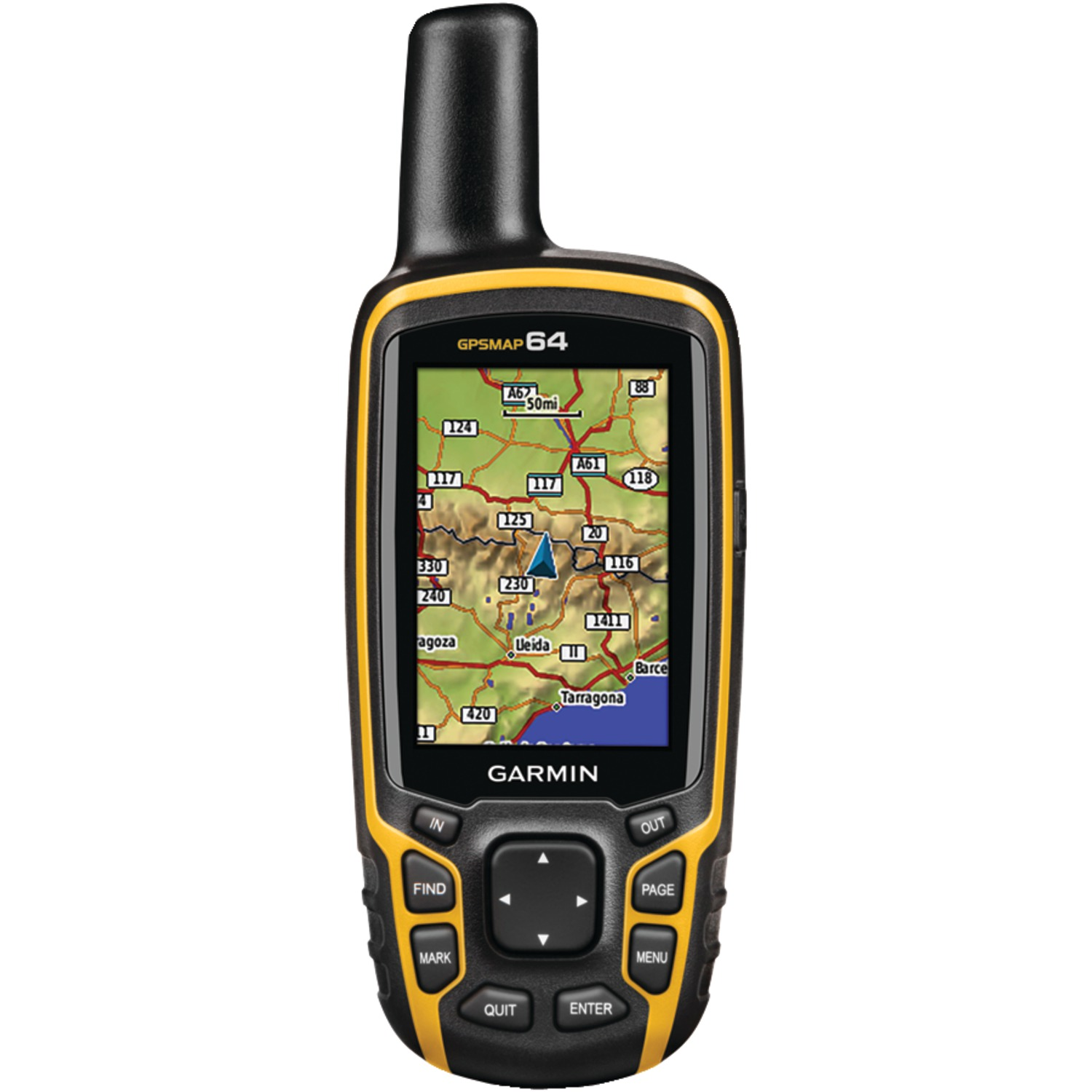 Garmin 010-01199-00 GPSMAP 64 Worldwide GPS Receiver by Garmin