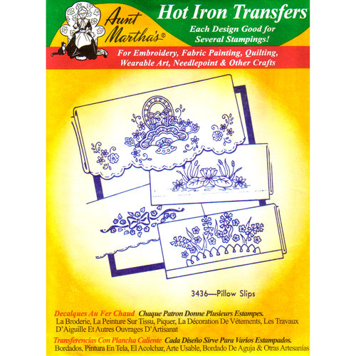 Aunt Martha's Linens and Monograms Hot Iron Transfers