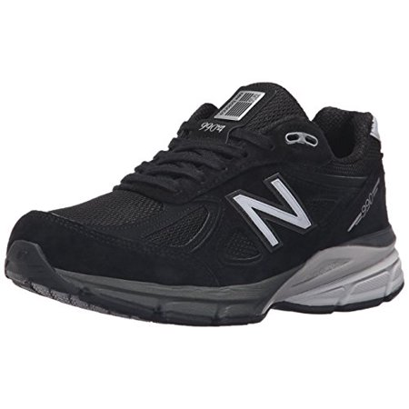 latest collection price elegant shoes New Balance W990BK4-D: Women's W990v4 Black/Silver Running Shoe WIDE (6.5  Wide US Women)