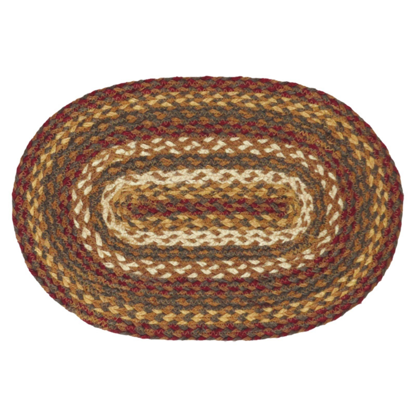 VHC Brands Tea Cabin Jute Placemat Set of 6 by VHC Brands