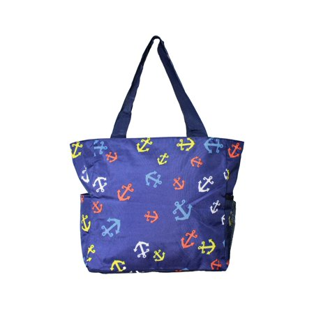 Value Series Pacific 13.5-Inch Beach Bag - Anchor Blue