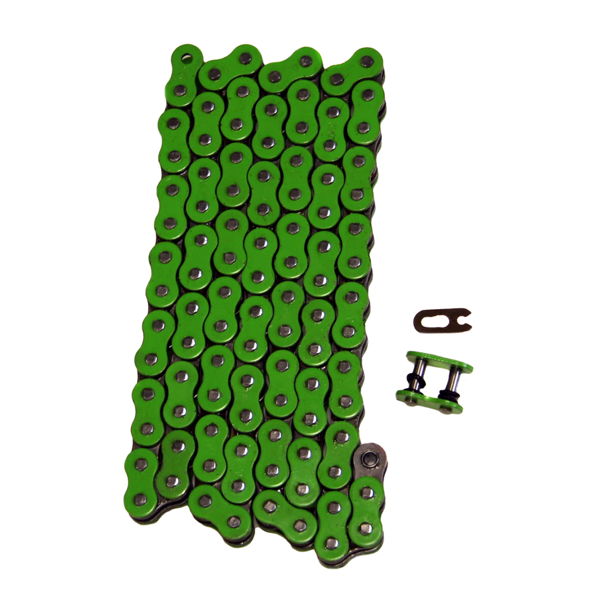 Factory Spec, FS-520-OGR, Heavy Duty Green O Ring Drive Chain 520x92 ORing 520 Pitch x 92 Links O-Ring