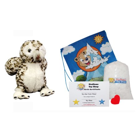 Make Your Own Diploma (Make Your Own Stuffed Animal Mini 8 Inch Very Soft Wise the Owl Kit - No Sewing)