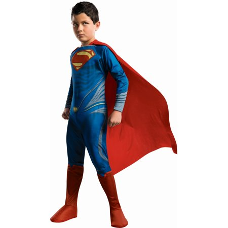 Superman Man Of Steel Costume Child - Brotherhood Of Steel Costume