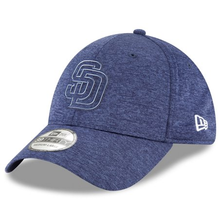 finest selection dc008 a1495 New Era - San Diego Padres New Era 2018 Clubhouse Collection Classic  39THIRTY Flex Hat - Navy - Walmart.com