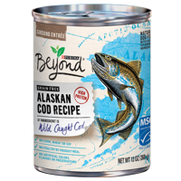 Purina Beyond Grain Free, Natural, High Protein Wet Dog Food, Alaskan Cod Recipe - (12) 13 oz. Cans