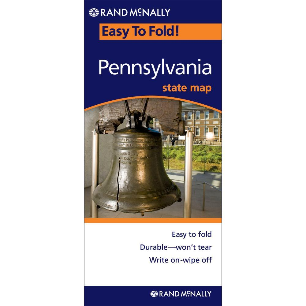 Easy Finder Map Pennsylvania - Folded Map