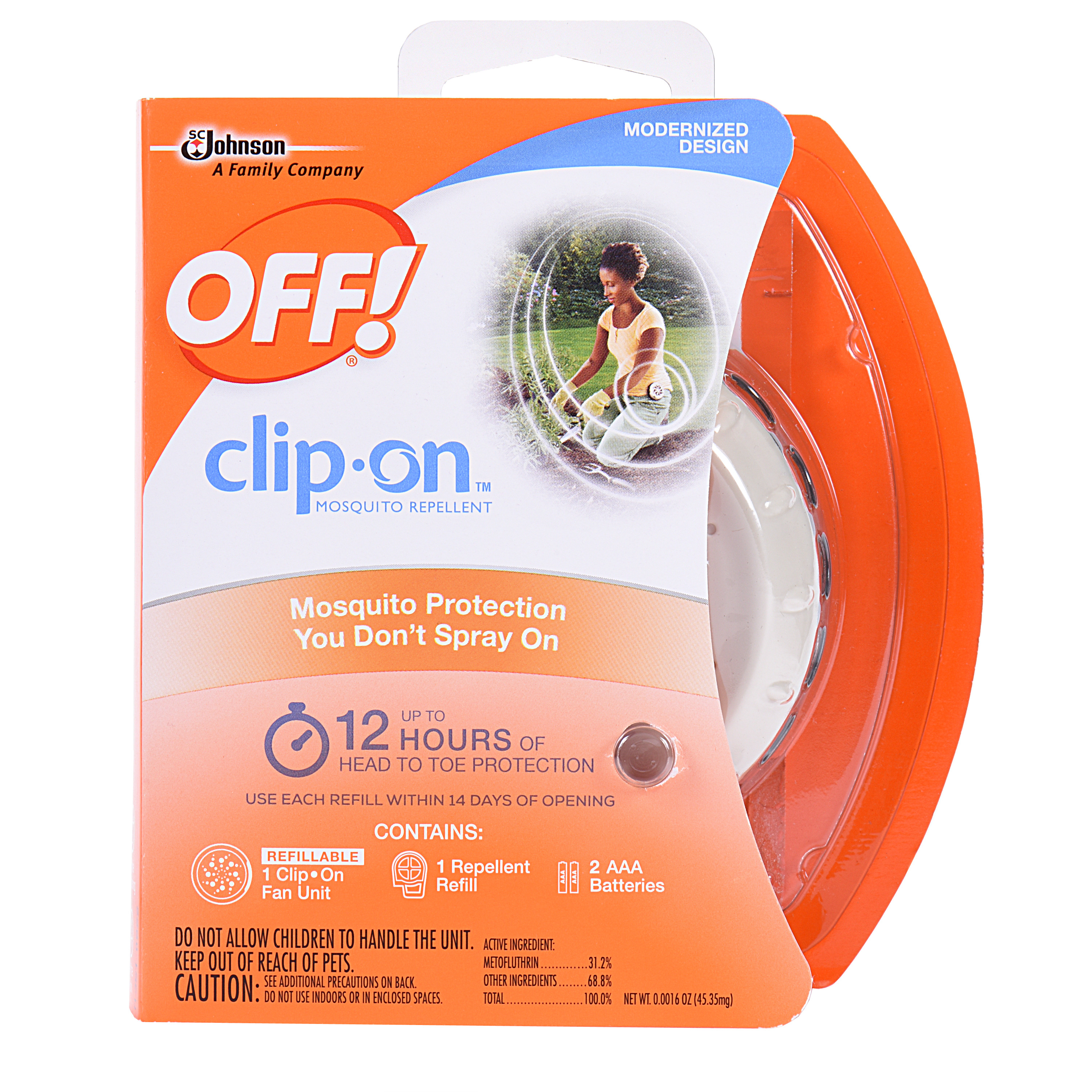 OFF! Clip-On Mosquito Repellent Starter Kit 0.0016 Ounces