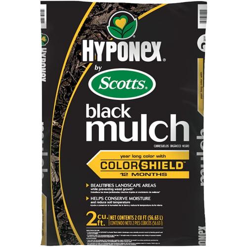 Hyponex by Scotts Black Mulch, 2 cu ft