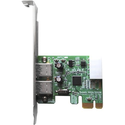 HIGHPOINT TECHNOLOGIES              RU1022AM             5G USB3 PCIE 2 RAID HBA MAC 2X