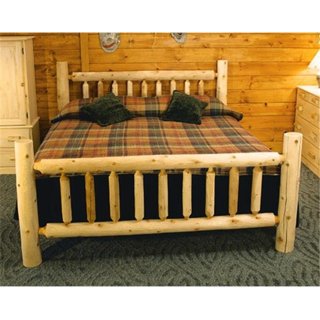 Lakeland Mills ALK76-C Low King Bed Clear by Lakeland Mills