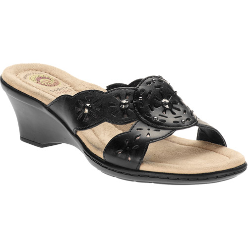 Earth Spirit - Women's Maddy Slide Leather Sandals