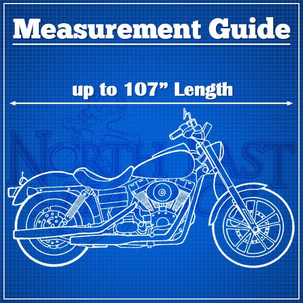 Motorcycle Bike Cover Travel Dust Storage Cover For Suzuki Marauder 800 1600 - image 2 de 3