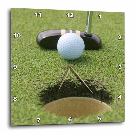 - 3dRose Dominican Republic, Bavaro, Punta Blanca Golf Club-CA14 JEN0160 - Jim Engelbrecht, Wall Clock, 10 by 10-inch