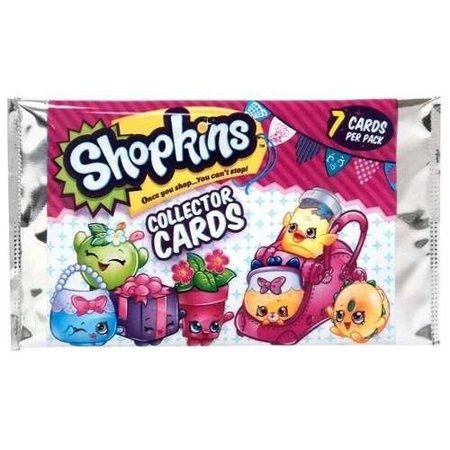 Season 4 Shopkins Collector 10 Sealed Trading Cards Packs