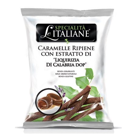 - Serra, Filled Candy w/Calabrian Licorice - Ripiene Liquirizia di Calabria DOP 100g bag (5 pcs)