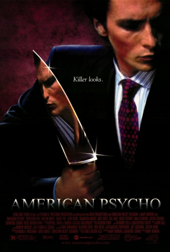 American Psycho Movie Poster Print (27 x 40) by Pop Culture Graphics