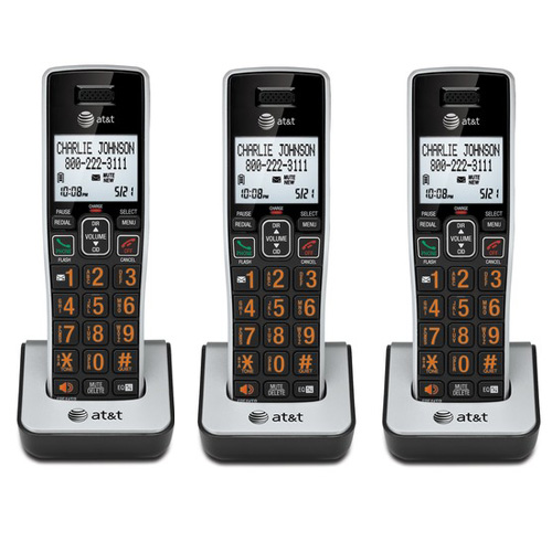 AT/&T CL80113 DECT 6.0 1.9GHz Extra Handset Charger W// HD Audio Technology